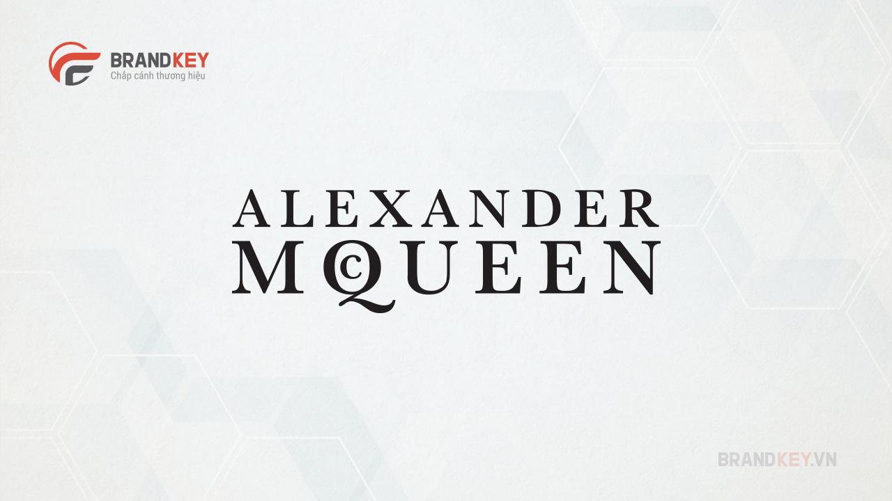 Logo hãng thời trang nổi tiếng Alexander Mqueen