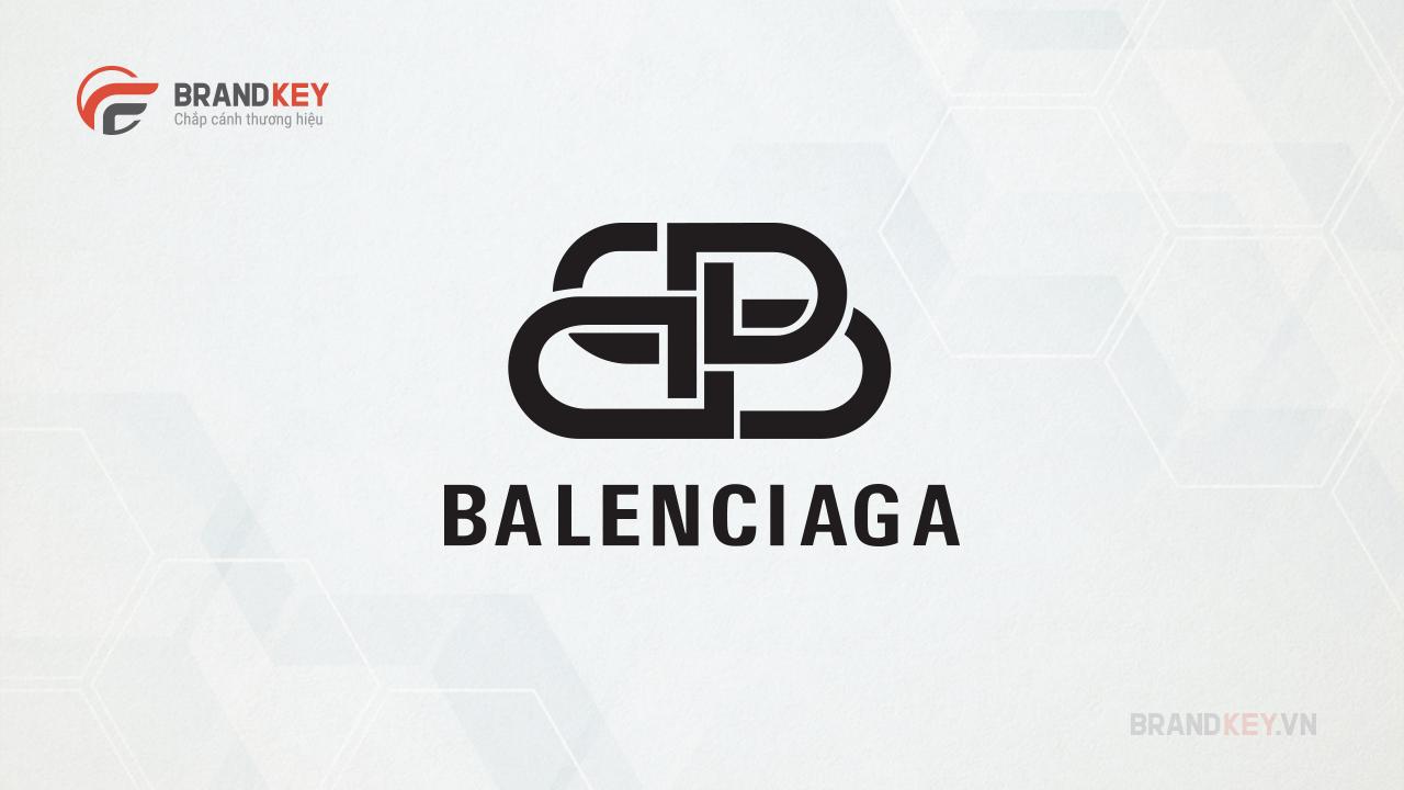 Logo biểu tượng thời trang Balenciaha