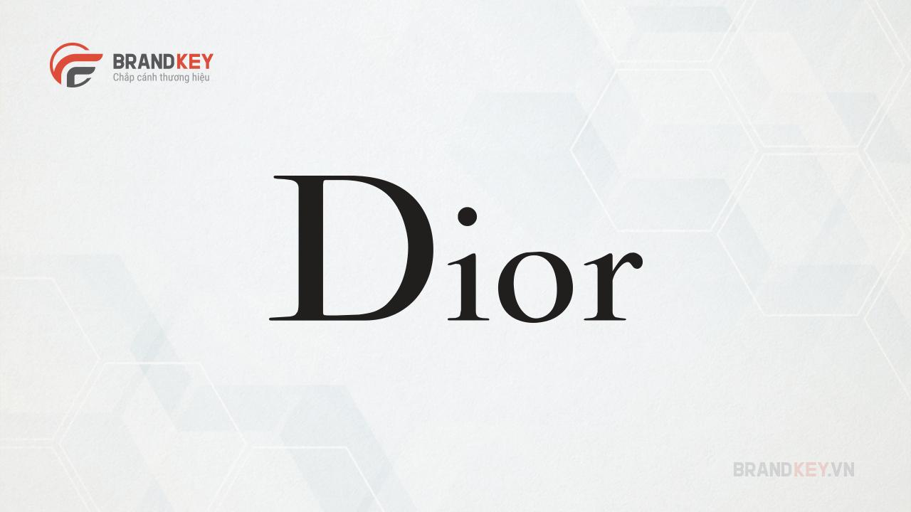 Dior- Logo thương hiệu thời trang nổi tiếng
