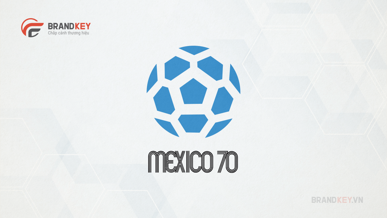Logo FIFA World Cup Mexico 70