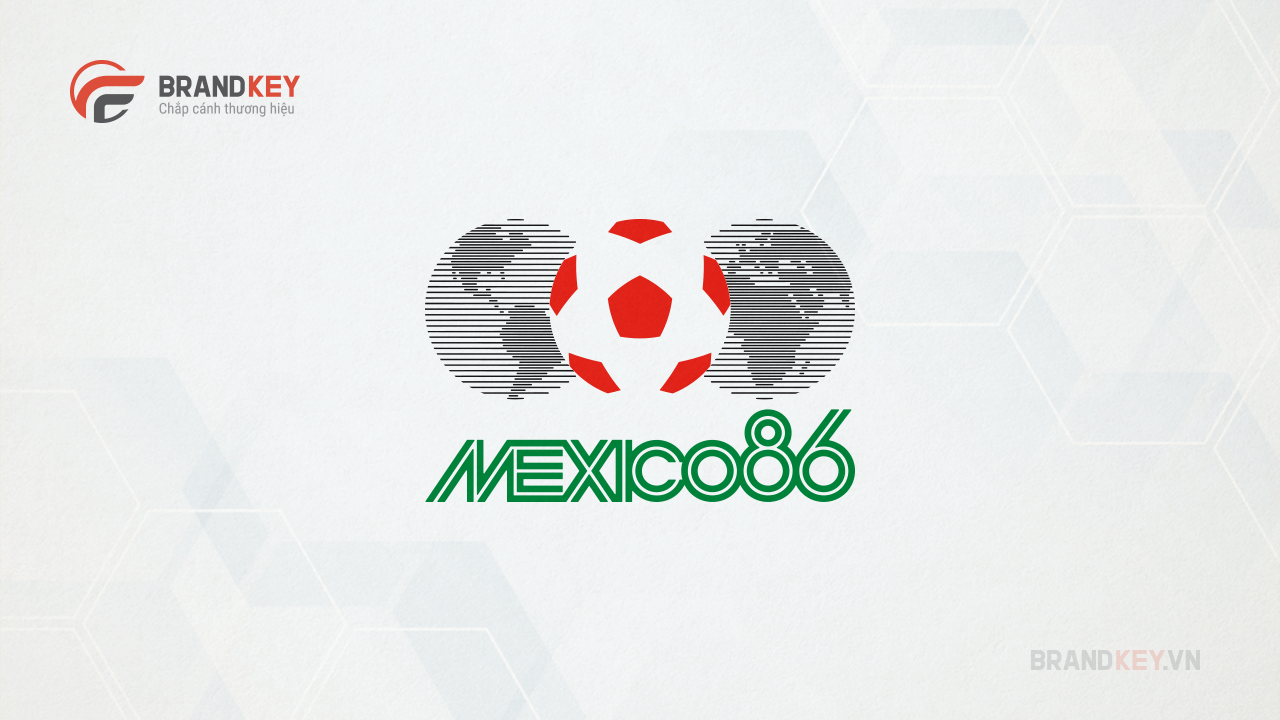 Logo FIFA World Cup Mexico 86