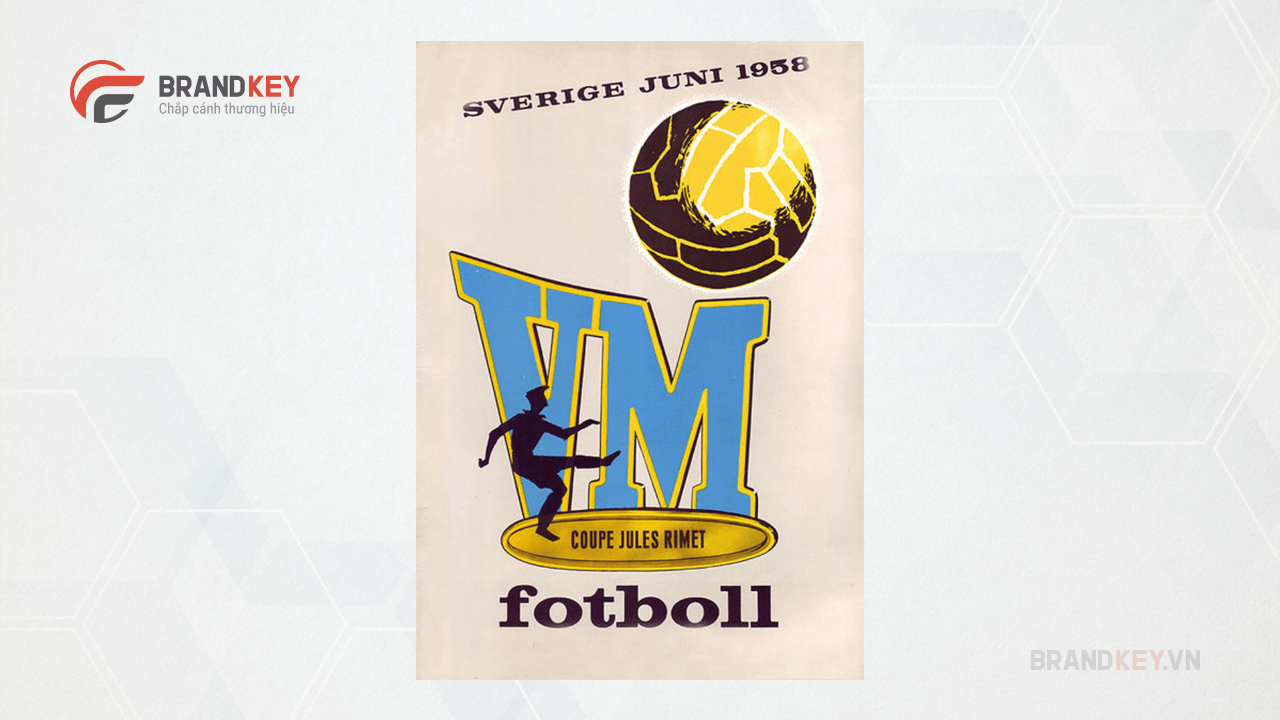 Logo FIFA World Cup Sweden 1958