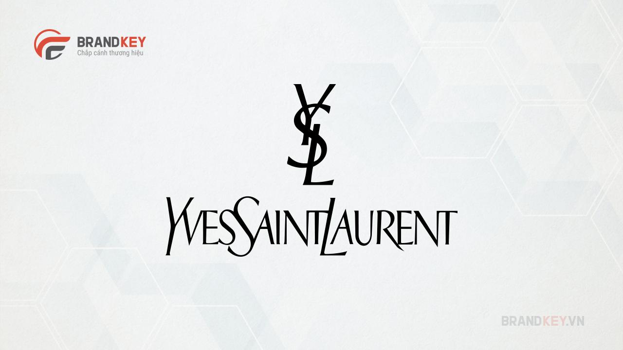 Logo biểu tượng thời trang Yves Saint Laurent