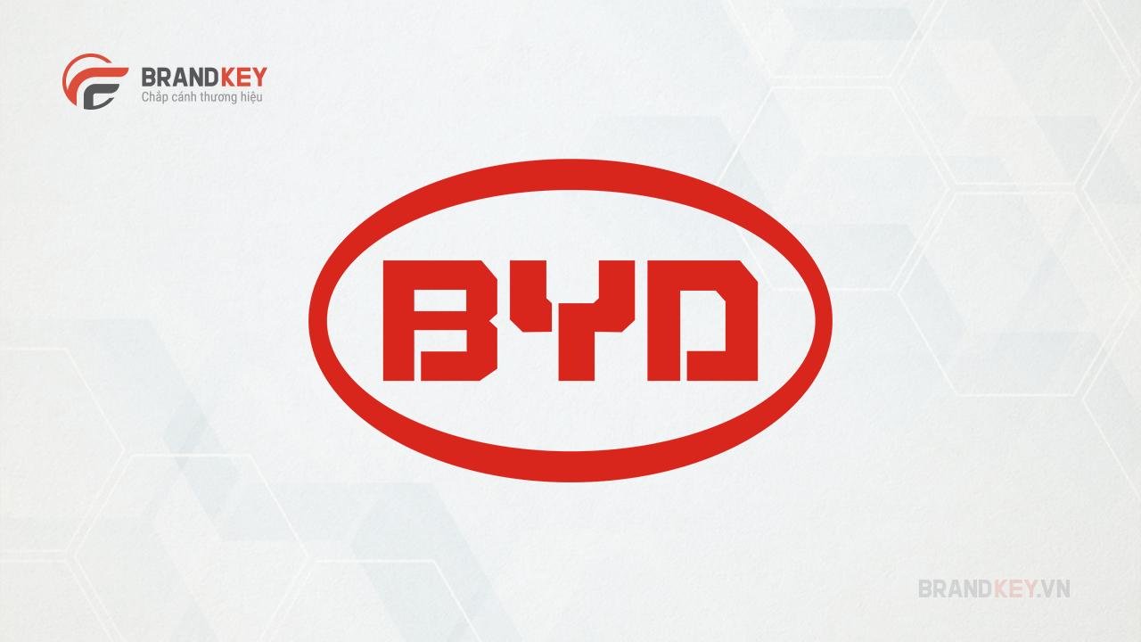 Logo hãng xe BYD