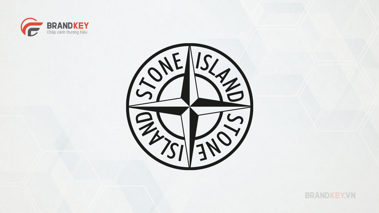 Logo hãng thời trang nổi tiếng Stone Island