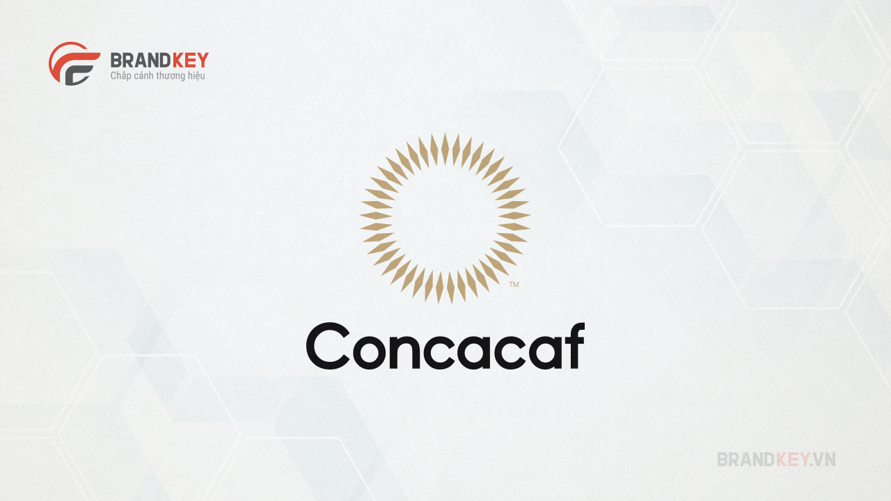 Mẫu thiết kế logo bóng đá logo Liên đoàn bóng đá Bắc, Trung Mỹ và Caribe (CONCACAF)