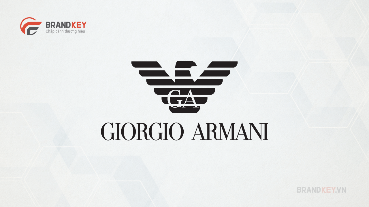 Logo về thời trang Giorgio Armani
