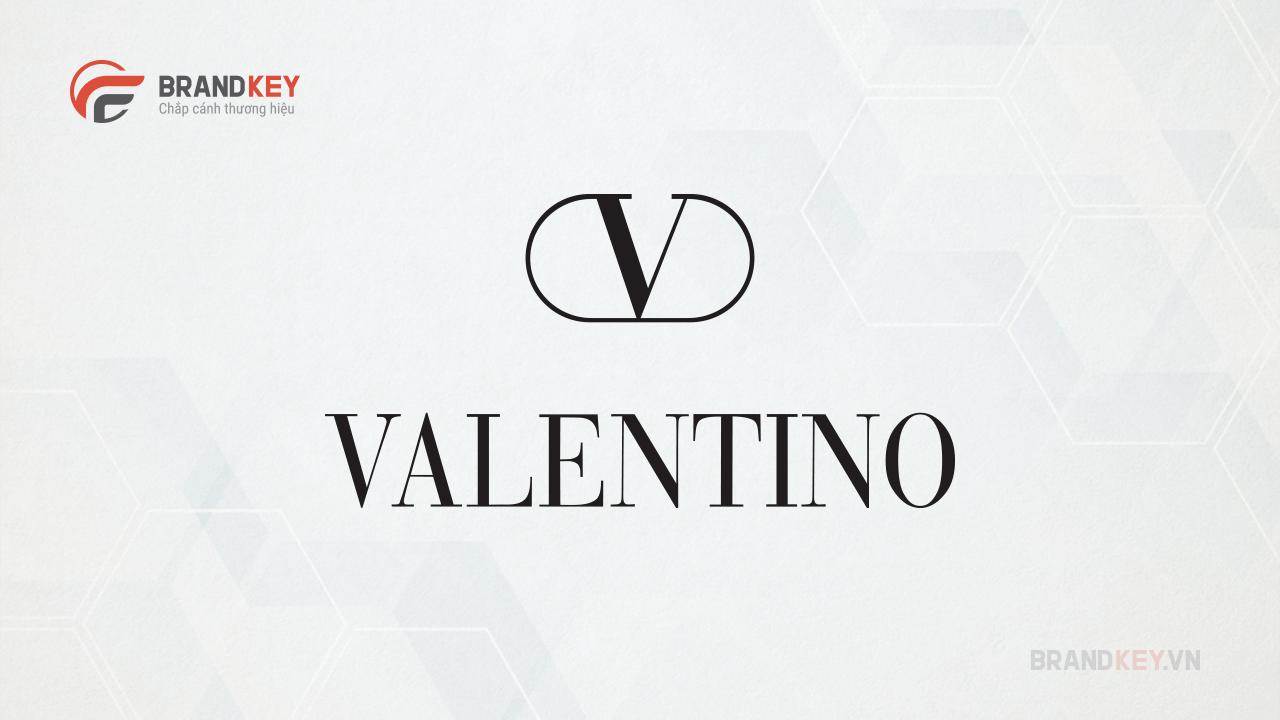 Mẫu logo thời trang đẹp Valentino