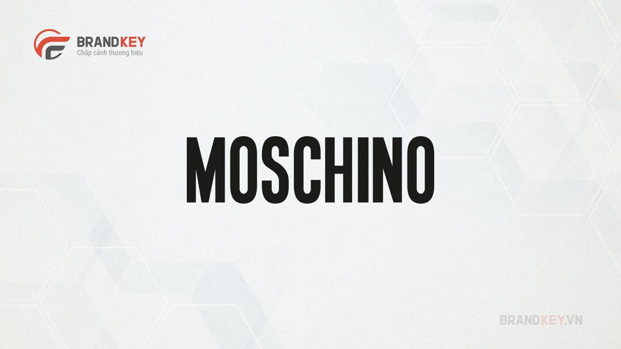 Moschino logo hãng thời trang nổi tiếng