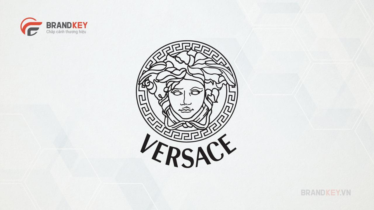 Versace - Logo thương hiệu thời trang nổi tiếng thế giới